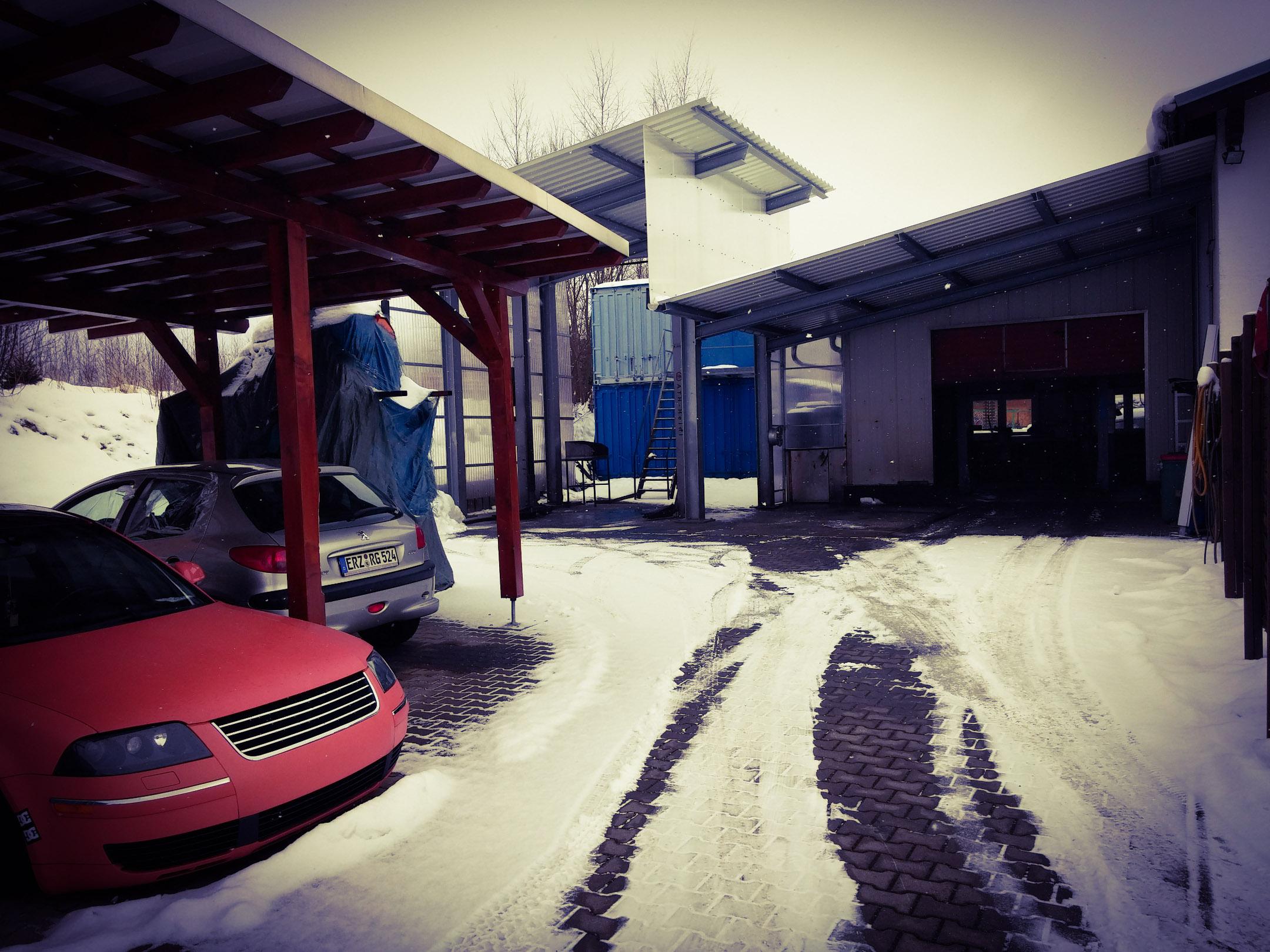 Außenbereich/Waschplatztz